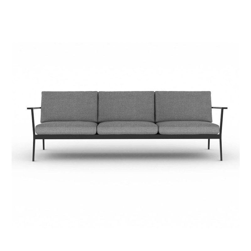 Case Furniture Eos 3 Seater Sofa by Matthew Hilton Olson and Baker - Designer & Contemporary Sofas, Furniture - Olson and Baker showcases original designs from authentic, designer brands. Buy contemporary furniture, lighting, storage, sofas & chairs at Olson + Baker.