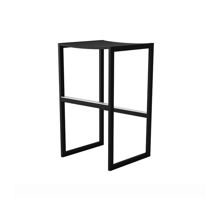 Case Furniture Eos Backless Bar Stool by Matthew Hilton Olson and Baker - Designer & Contemporary Sofas, Furniture - Olson and Baker showcases original designs from authentic, designer brands. Buy contemporary furniture, lighting, storage, sofas & chairs at Olson + Baker.
