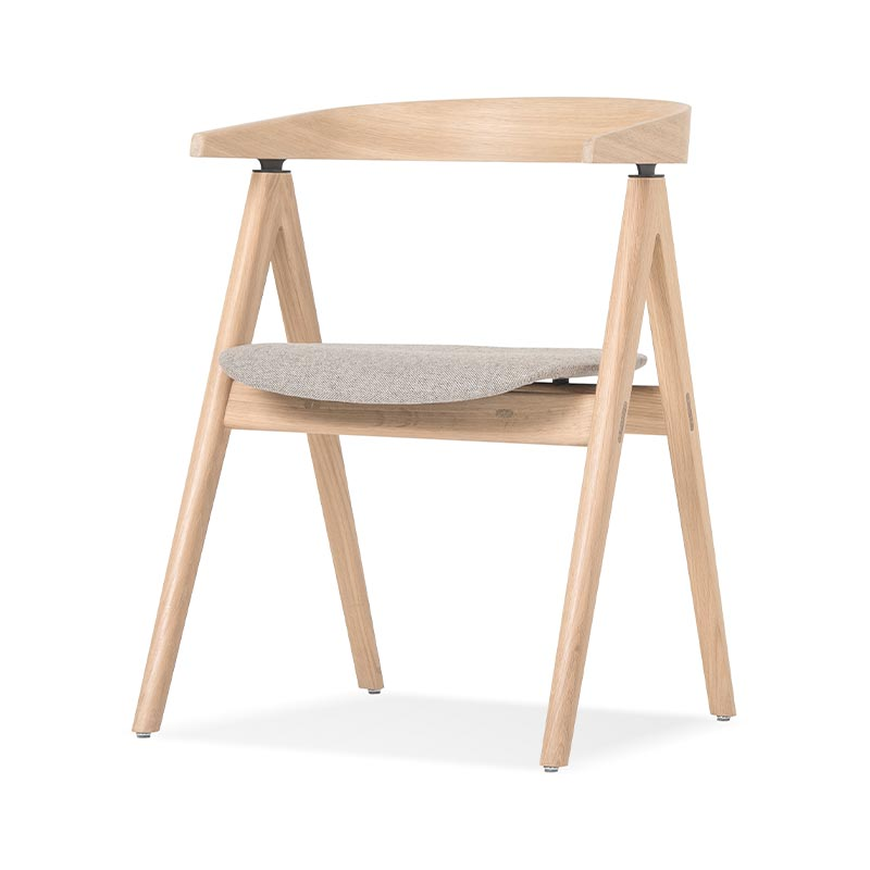 Gazzda Ava Chair by Salih Teskeredzic Olson and Baker - Designer & Contemporary Sofas, Furniture - Olson and Baker showcases original designs from authentic, designer brands. Buy contemporary furniture, lighting, storage, sofas & chairs at Olson + Baker.
