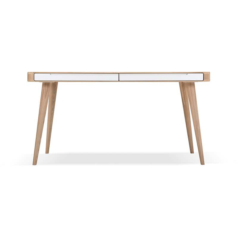 Gazzda Ena Dining Table with Drawers by Salih Teskeredzic Olson and Baker - Designer & Contemporary Sofas, Furniture - Olson and Baker showcases original designs from authentic, designer brands. Buy contemporary furniture, lighting, storage, sofas & chairs at Olson + Baker.