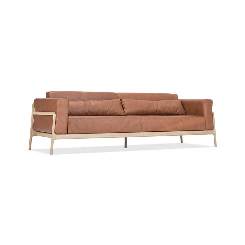 Gazzda Fawn Three and a Half Seat Sofa by Salih Teskeredzic Olson and Baker - Designer & Contemporary Sofas, Furniture - Olson and Baker showcases original designs from authentic, designer brands. Buy contemporary furniture, lighting, storage, sofas & chairs at Olson + Baker.
