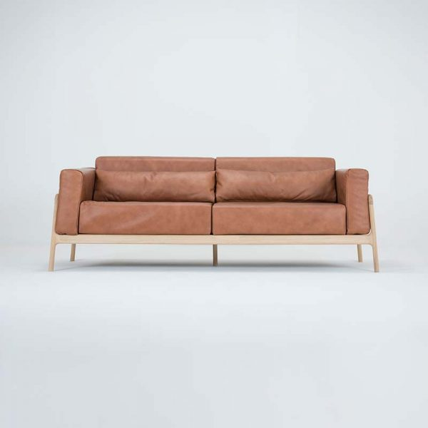 Fawn Three Seat Sofa