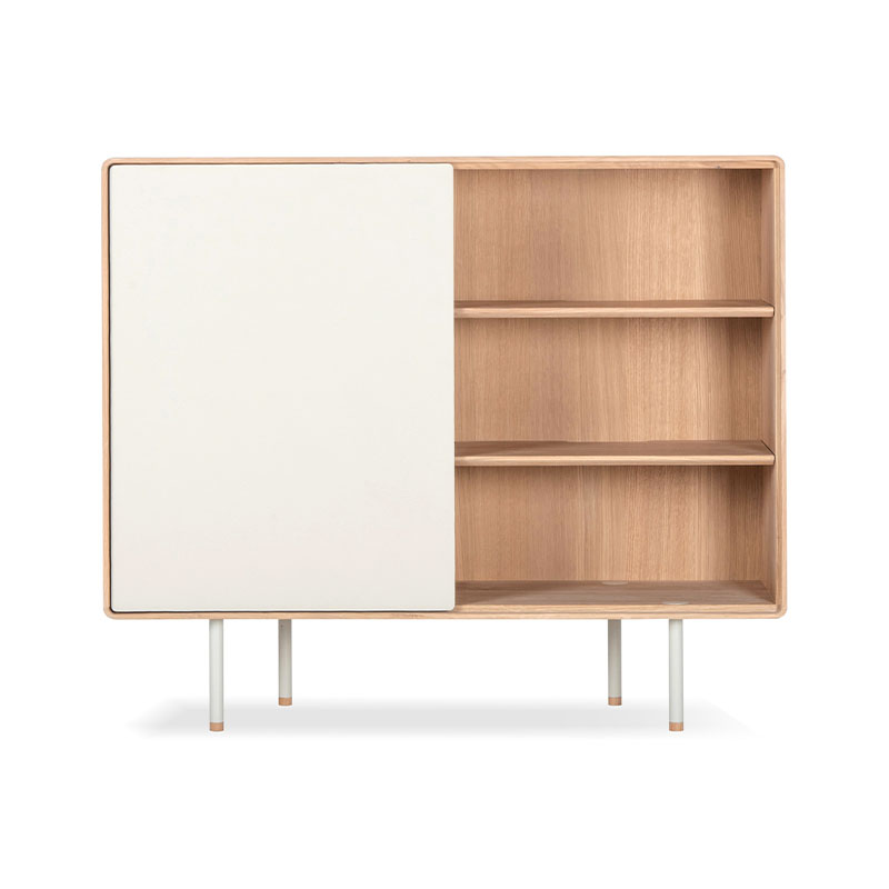 Gazzda Fina Dresser 118 with Door by Mustafa Cohadzic Olson and Baker - Designer & Contemporary Sofas, Furniture - Olson and Baker showcases original designs from authentic, designer brands. Buy contemporary furniture, lighting, storage, sofas & chairs at Olson + Baker.