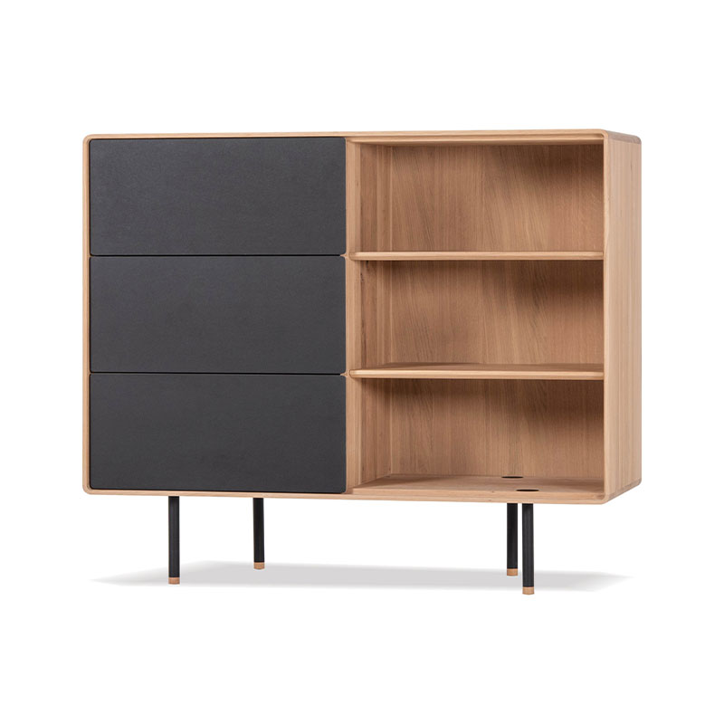 Gazzda Fina Dresser 118 with Drawers by Mustafa Cohadzic Olson and Baker - Designer & Contemporary Sofas, Furniture - Olson and Baker showcases original designs from authentic, designer brands. Buy contemporary furniture, lighting, storage, sofas & chairs at Olson + Baker.