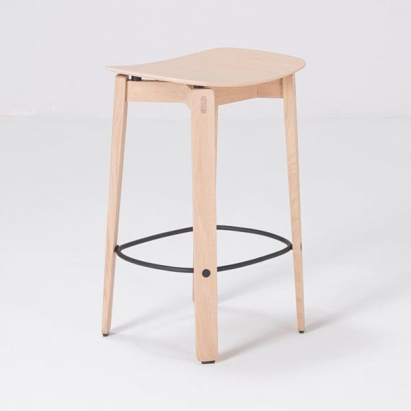 Nora Bar Chair without Backrest